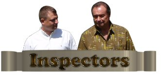 David Quinn and Kelly Quinn Inspectors