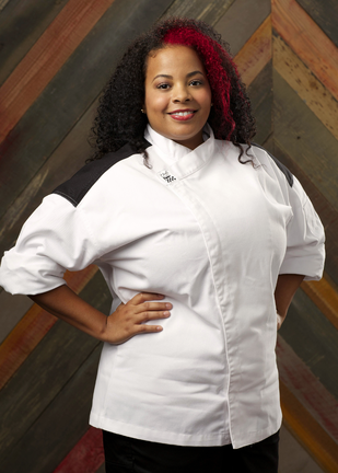 monique booker - Hells Kitchen Season 14