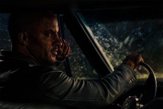 American Gods Season 1x03 Ricky Whittle as Shadow Moon